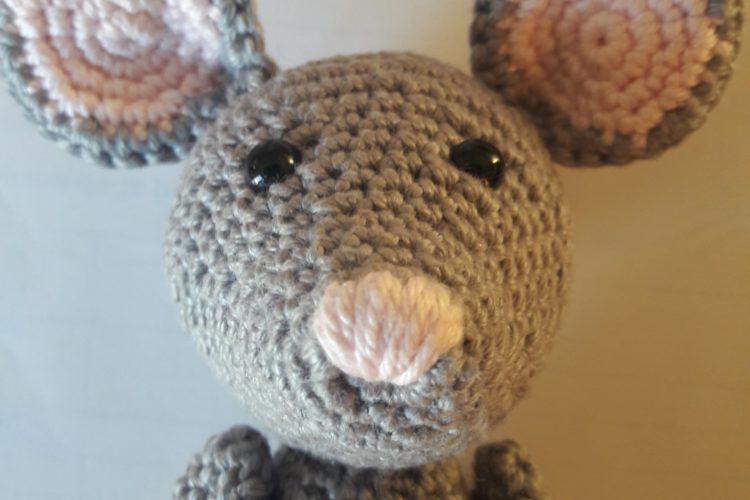 Mr Mouse Littlemouse Crochet pattern Grundl quick cotton