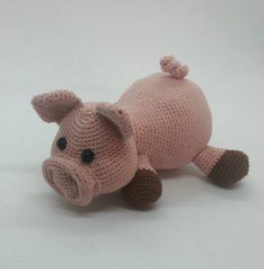 Sam le Cochon patron Littlemouse Crochet  DMC Natura Just Cotton