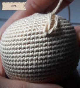 Amigurumi noeud invisible