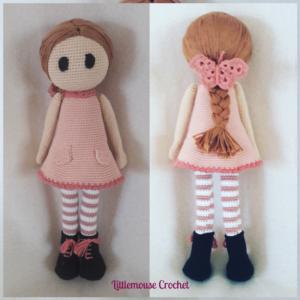 Olivia la poupée au crochet